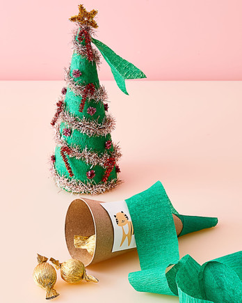 christmas tree surprise cone