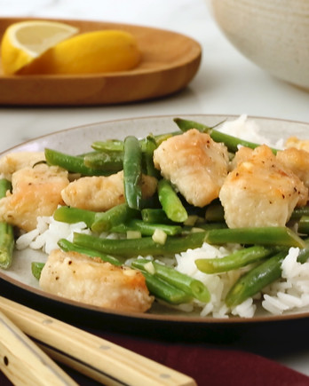Lemon Chicken with Green Beans IMAGE