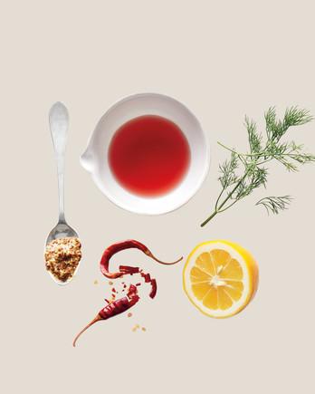 ingredient swaps dill mustard chile lemon red wine vinegar