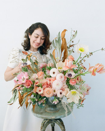 kiana underwood summer floral arrangement