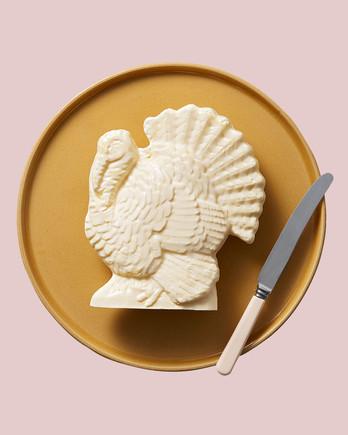 butter sculpted turkey