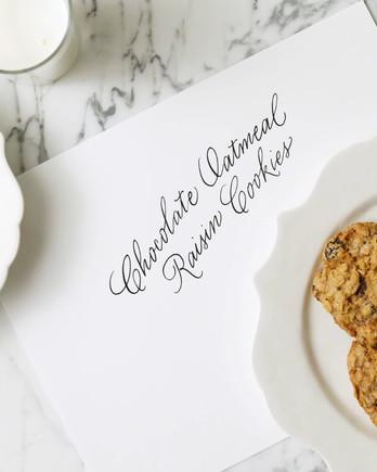 Chocolate-Oatmeal Raisin Cookies EH