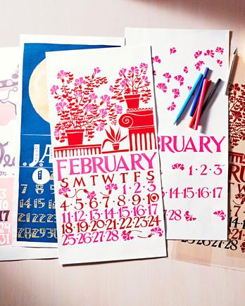 Organizing calendars and checklists martha stewart dolphin studio calendars m4hsunfo