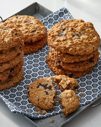 Magnificent Marthas Supersized Cowboy Cookies Are Easy To Love Martha Download Free Architecture Designs Lukepmadebymaigaardcom