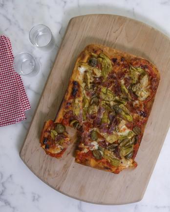 platter pizza IMAGE