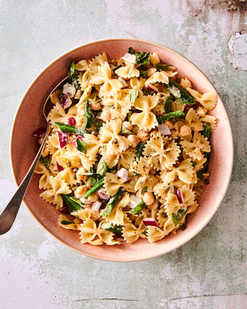 Pasta Salad with Green Beans and Basil