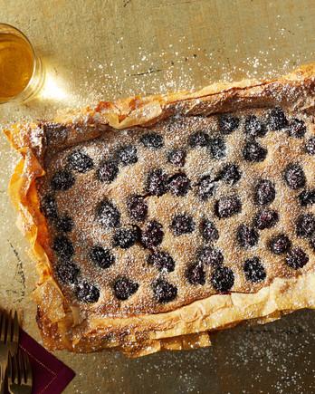 blueberry frangipane martha bakes