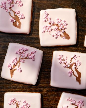 cherry blossom cookies martha bakes
