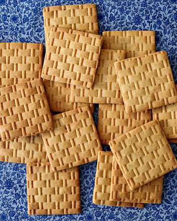 honey cookies martha bakes patterned
