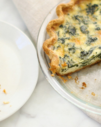 Spinach and Cheese Quiches EDFSC
