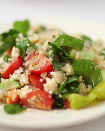 Greek Quinoa Salad Video HA