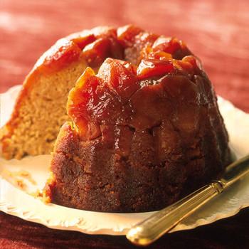 Caramel Apple Steamed Pudding
