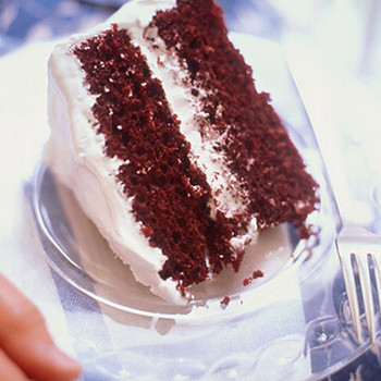 Seven-Minute Frosting for Red Velvet Chocolate Cake