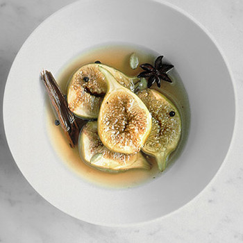 Spiced Poached Figs