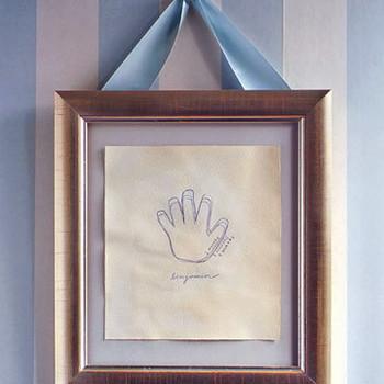 Framed Memento: Hand over Hand