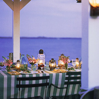 Lighting an Outdoor Table
