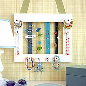 Homemade Accessory Frames
