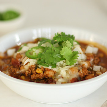 Instant Pot Turkey Chili Video