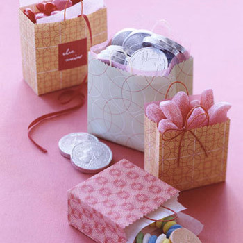 Miniature Valentine's Day Gift Bags