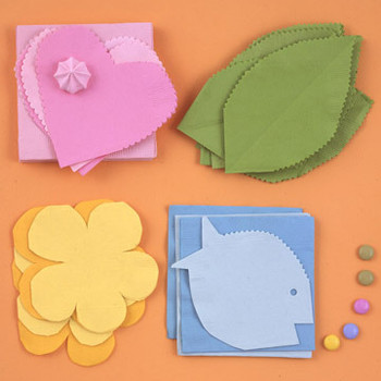 Easy Napkin Crafts