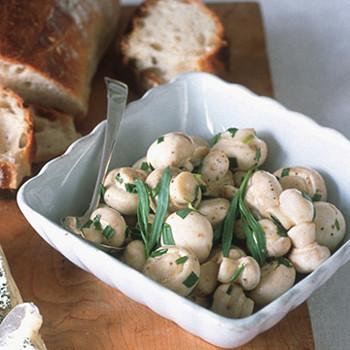 Tarragon-Marinated Mushrooms