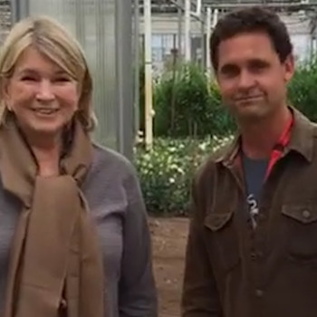 Martha Visits Stone Barns Center for Food and Agriculture