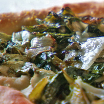 Escarole Pizza