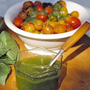 Tomato Pesto Saute