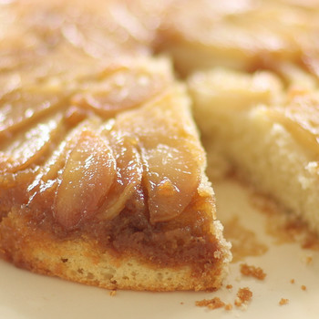 Pear Upside-Down Cake Video
