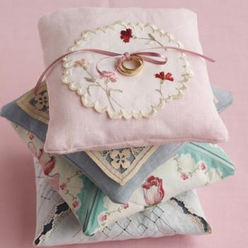 Linen Ring Pillow