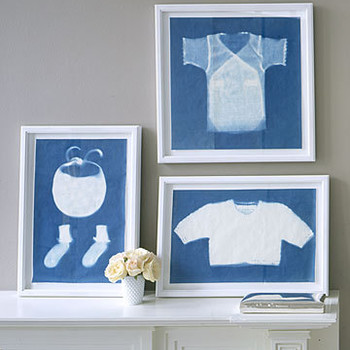 Baby Clothes Sun Prints