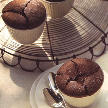 Warm Brownie Cups