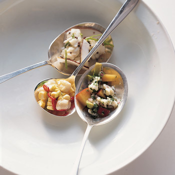 Fluke Ceviche with Coconut