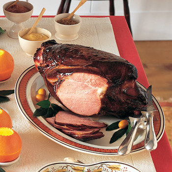 Maple-Glazed Smoked Vermont Ham