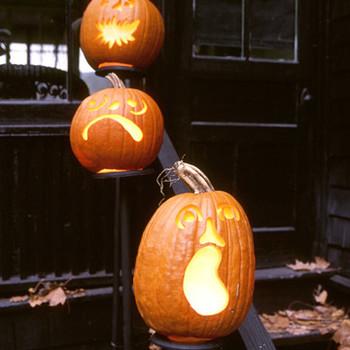 Pumpkin Pedestals