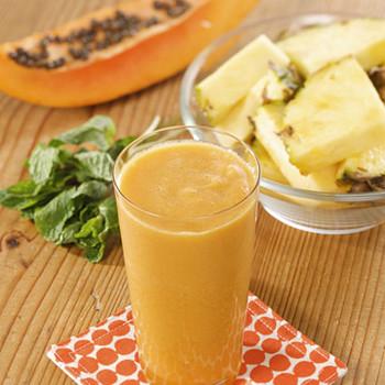 Martha's Pineapple-Papaya Juice
