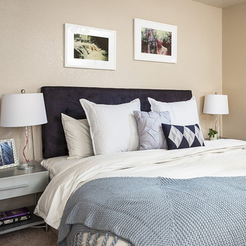 A Surprise Bedroom Makeover for a Veteran and His Wife