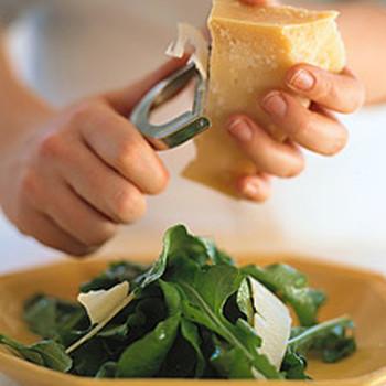 Arugula with Parmesan
