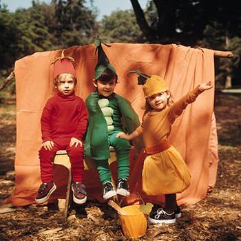 Crepe Pea Pod Costume