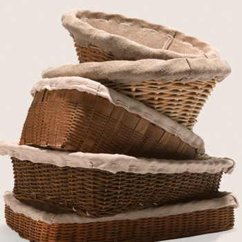 Linen-Lined Baskets