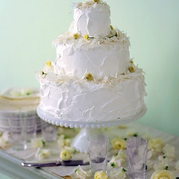 Coconut Swirl Cake