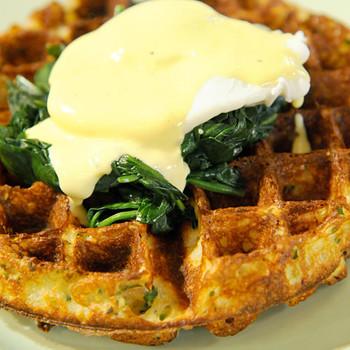 Easter Waffles Florentine
