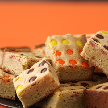 Halloween-Inspired Blondies
