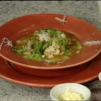 Hominy Posole Soup