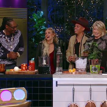 "A Sneak Peek of ""Martha & Snoop's Potluck Dinner Party"" Episode 109"