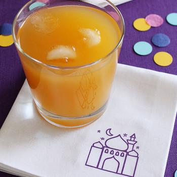 Mosque cocktail napkin