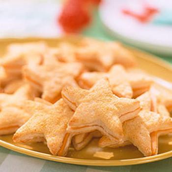 Starfish Biscuit Sandwiches