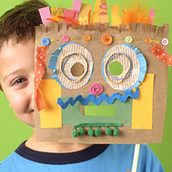Paper Party Mask