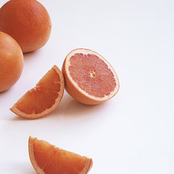 Healthy Red Grapefruit Menu