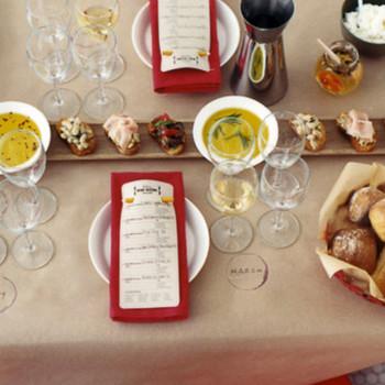 Easy Wine-Tasting Dinner